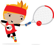 LTA Mini Tennis Billy_Forehand