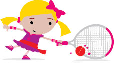 LTA Mini Tennis Jess_Reach